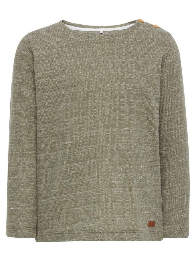 3a7f5f72 Name It Nitdigon grønn genser fra Name It – Mio Trend
