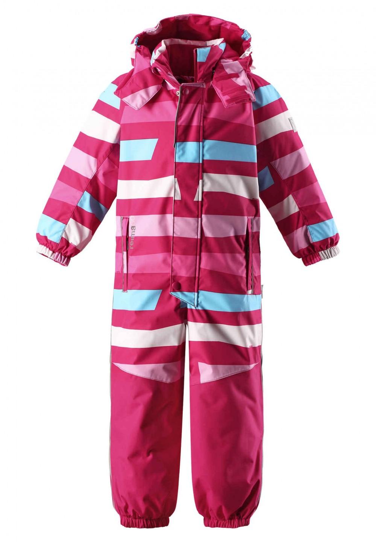 ed097e08 Reima Reimatec-dress Otsamo, rosa vinterdress – Mio Trend