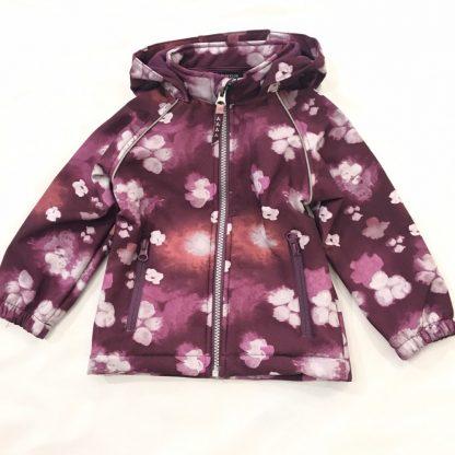 Name It Nitalfa lilla softshelljakke med blomster, fra Name It – Mio Trend