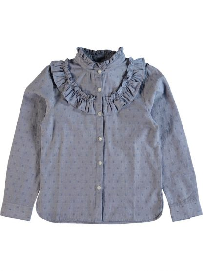 Name It Nitkanilla blå bluse fra Name It – Mio Trend