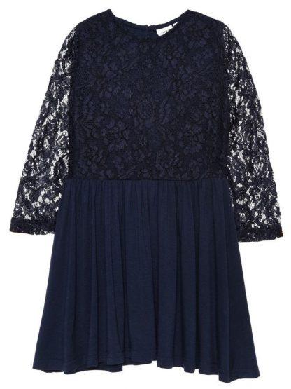 Name It Marineblå Name It Wolda kjole – Mio Trend