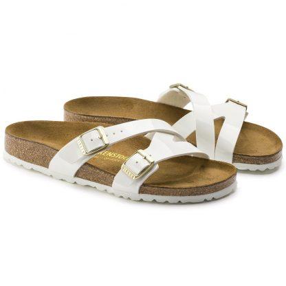 Birkenstock Hvit sandal fra Birkenstock, modell Yao – Mio Trend