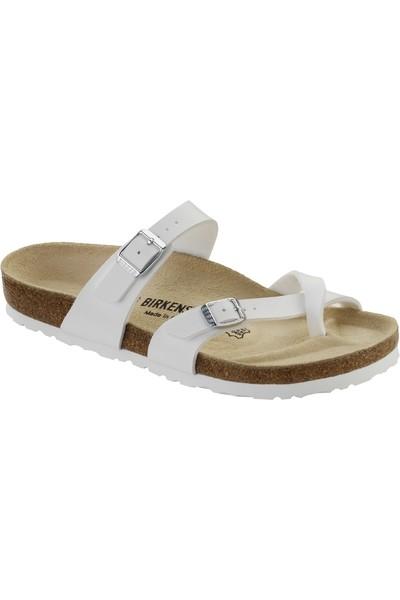 eb60ff063176 Birkenstock Hvite Mayari sandaler fra Birkenstock – Mio Trend