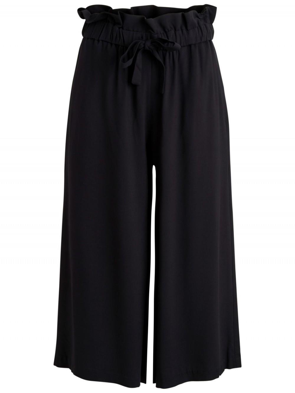 Vila sort vid bukse, svarte culotter til dame