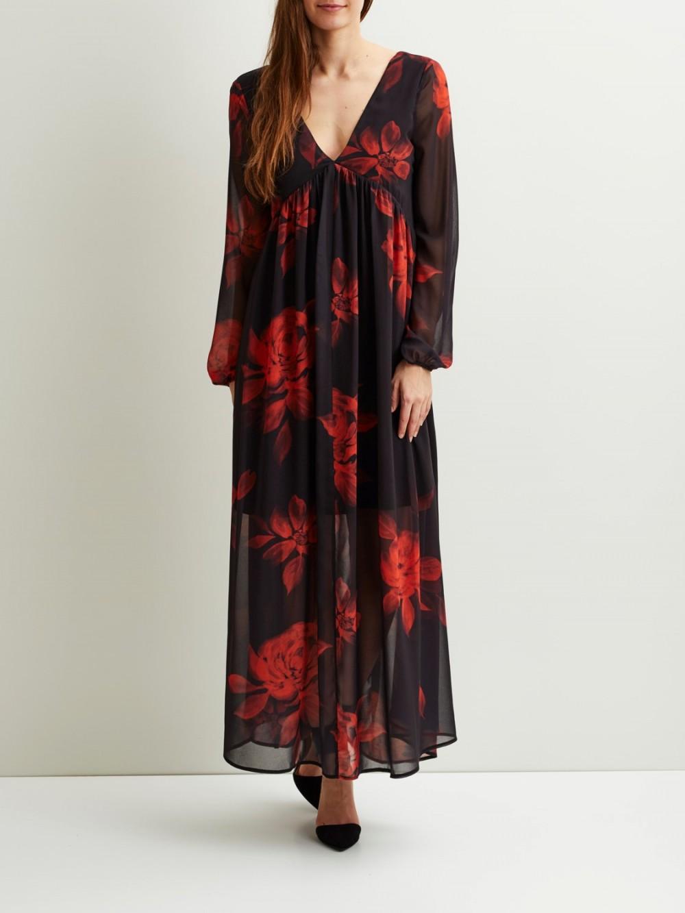 kjøp lange blomster kjoler