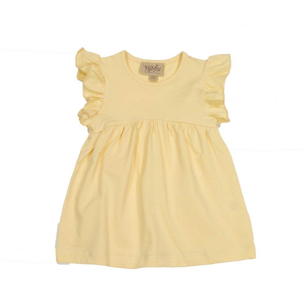 0dddf7616f3a MeMini Turid gul kjole tunica fra MeMini – Mio Trend