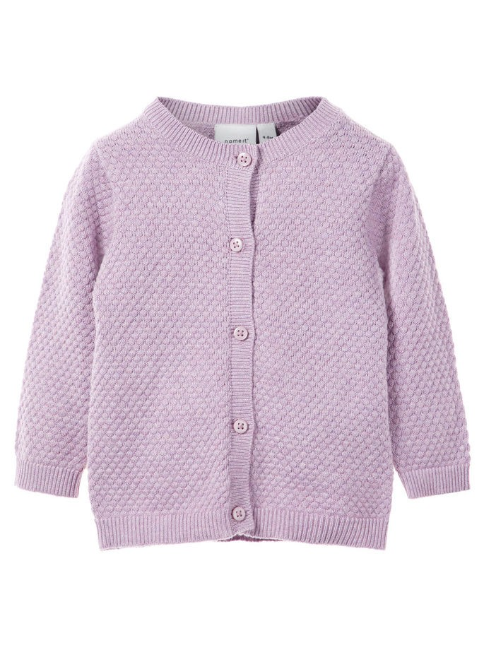 cf6f63a5 Name It Rosa stikket cardigan til baby – Mio Trend