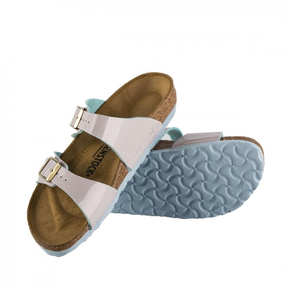3b270d1558cf Birkenstock Lys Grå Sydney Two Tone Lightgray sandaler – Mio Trend