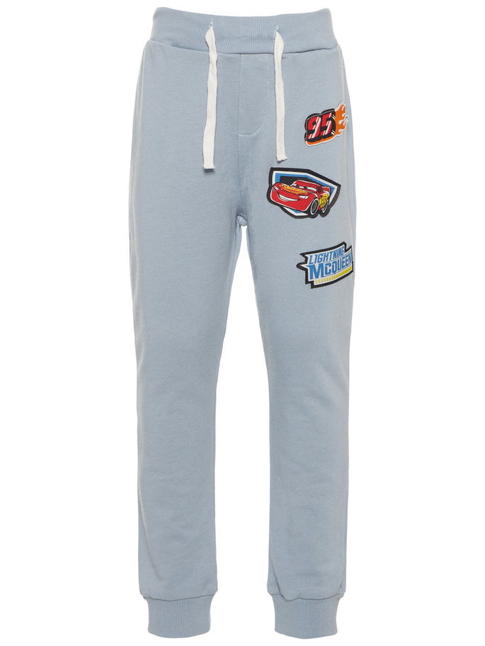 d067238d1 Joggebukse til barn fra Name It, bukse fra Disneys Biler, Cars, lyse blå