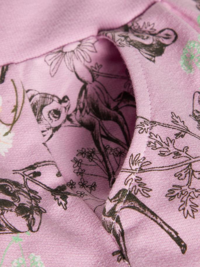 72b431eab Name It bukse til jente, rosa joggebukse til barn med print av Bambi