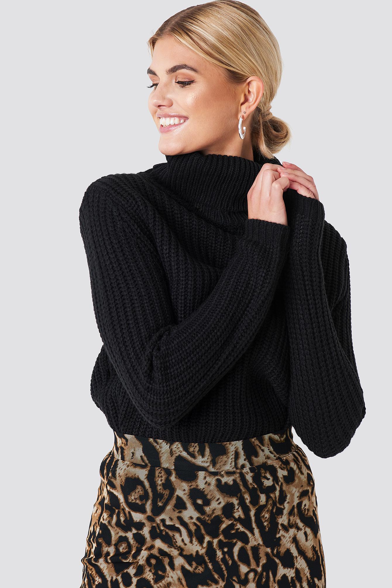 a57688fa Designet av Tina Hauglund Rut & Circle Tinelle sort genser – Mio Trend ...