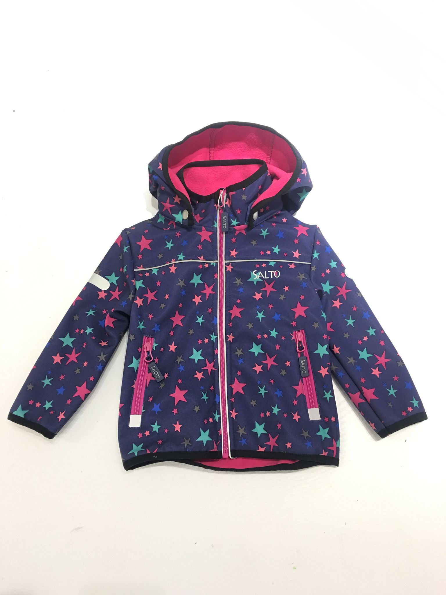 e9bf02af softshelljakke til barn, blå jakke, vindt og vanntett f vårjakke og ...