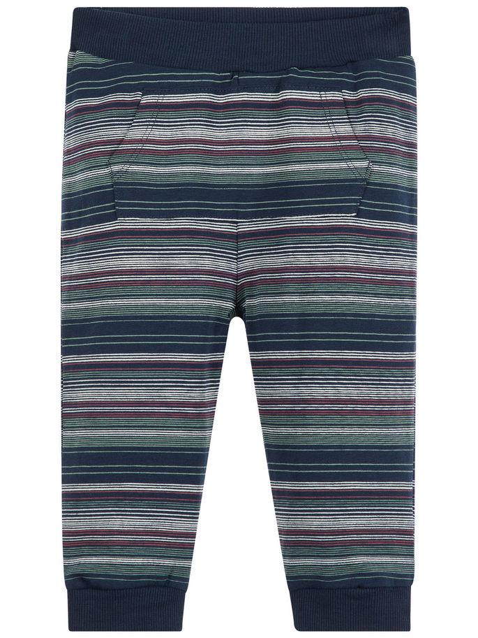 3b5d8271 Name It bukse til baby, stripete bukse til baby, mørk blå bukse til barn