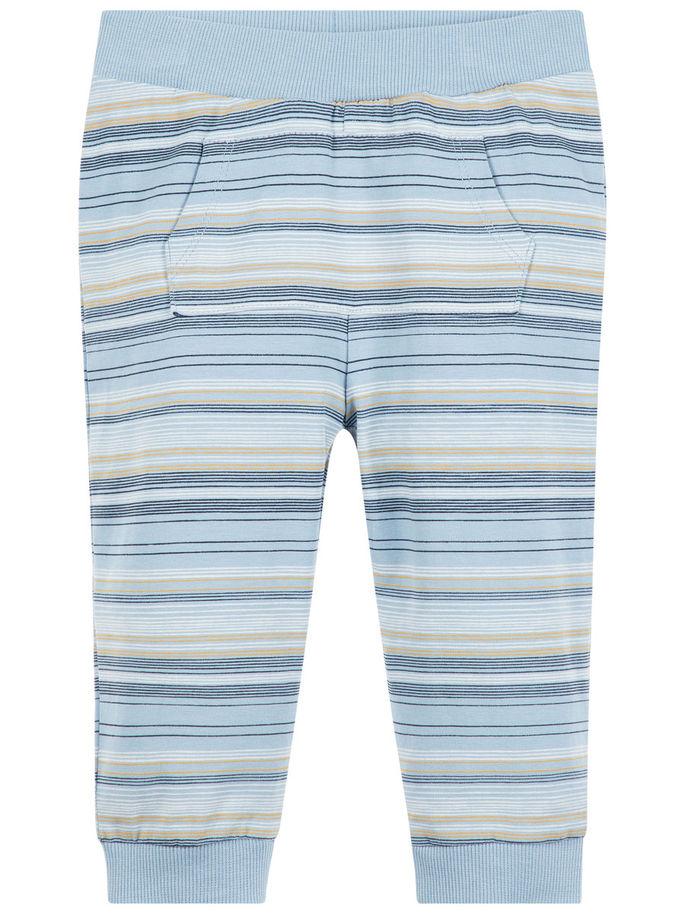 04e5a681 Bukse til baby fra Name It, lyse blå bukse til barn, joggebukse fra ...