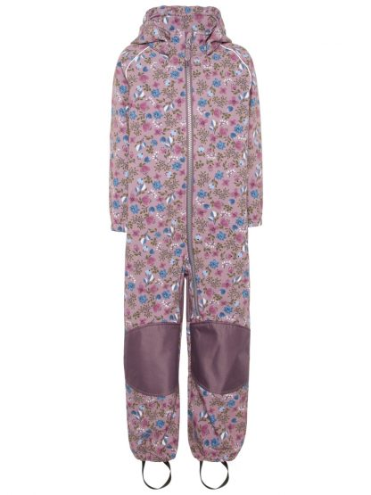 Name It Softshelldress med blomster – Mio Trend