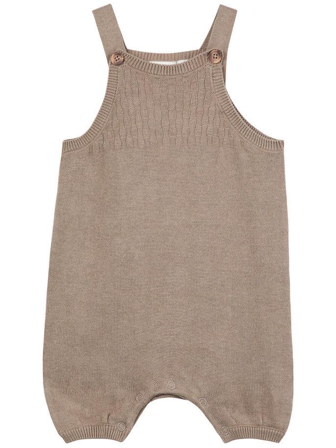 f4d284d8 Name It shorts, strikket brun short rumba til baby fra Name It barneklær