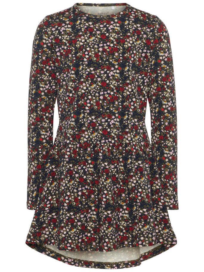 c6a68ca1 Name It klær til jente, tunica til jente, grønn kjole tunika fra Name It