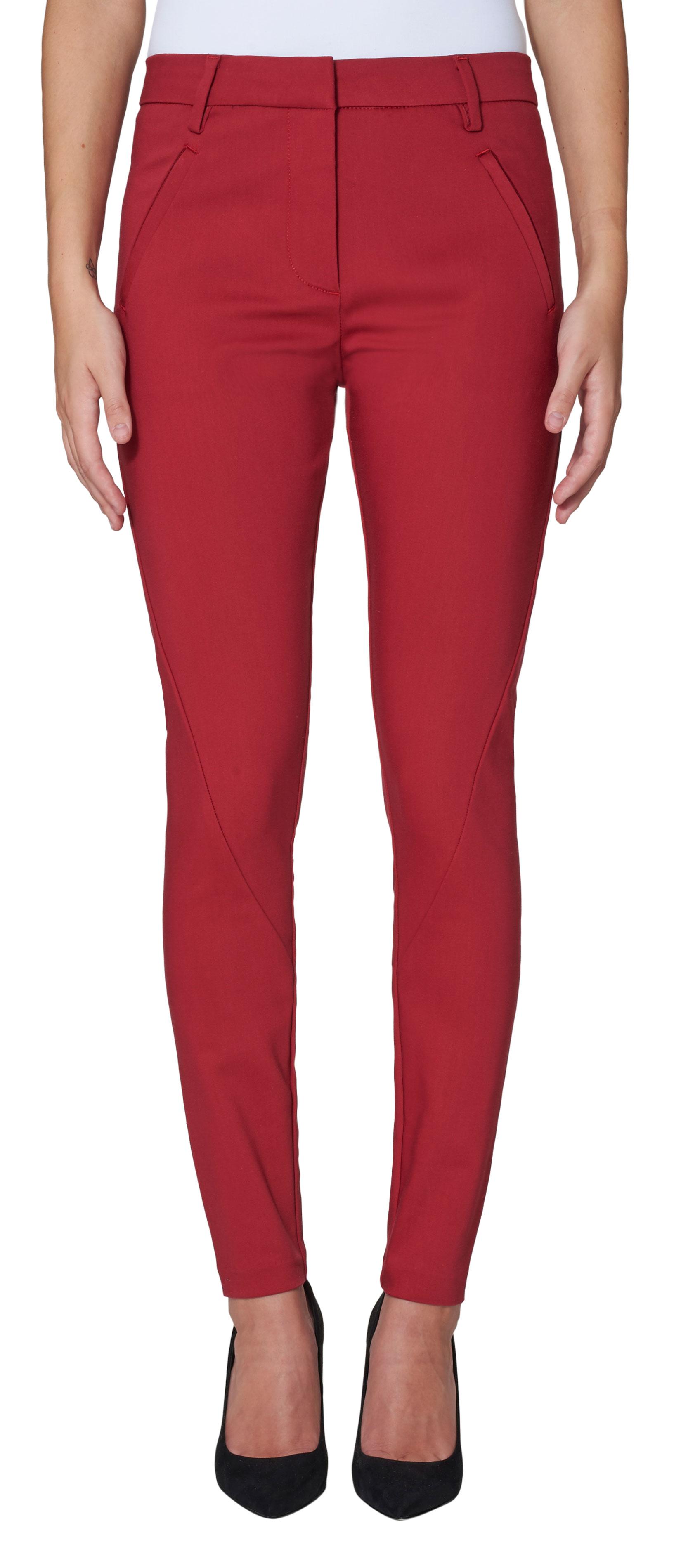 43b0db39 Five Units bukse, rød dressbukse fra Five Units, Angelie Rio Red