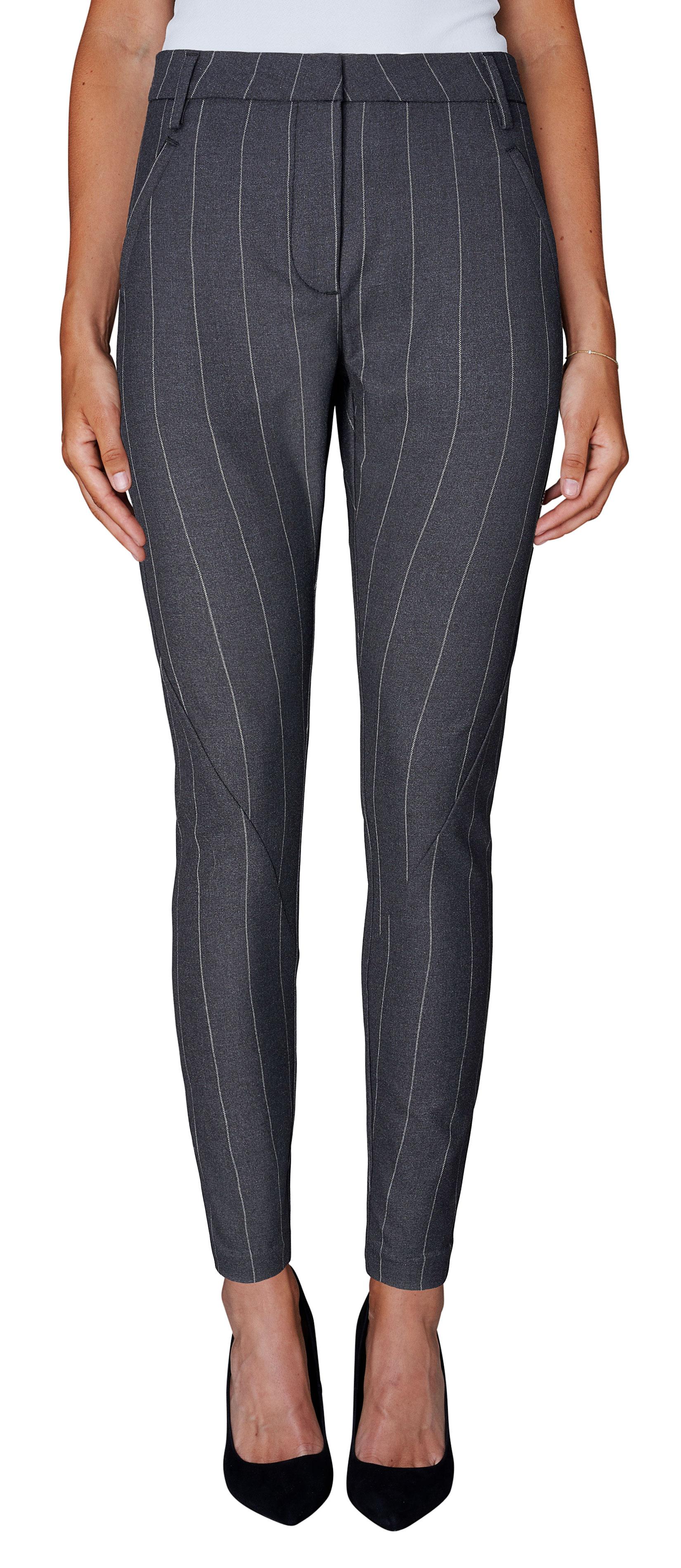 Fiveunits grå bukse, grå dressbukse fra Five Units, grå