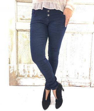 Mørk blå jeans fra Bianco