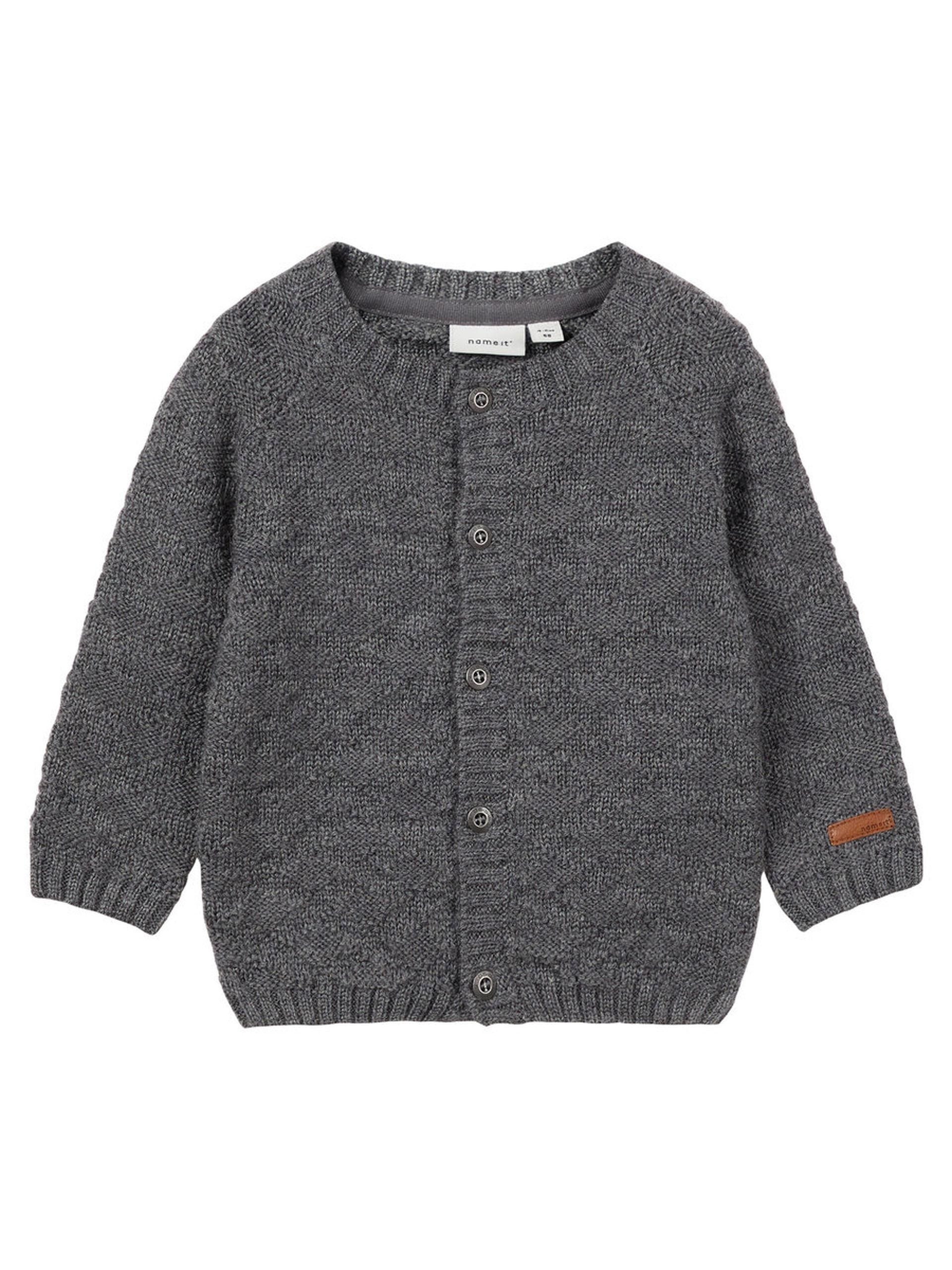 4612adb5 Ulltøy fra Name It, grå ulljakke til baby, ull til barn fra Name It ...