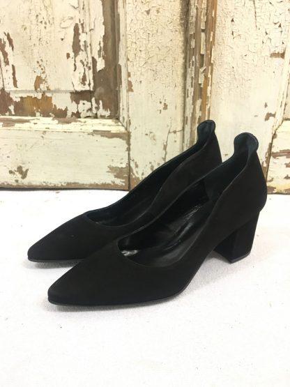 Copenhagen Shoes Mandy semskede sko, sorte – Mio Trend