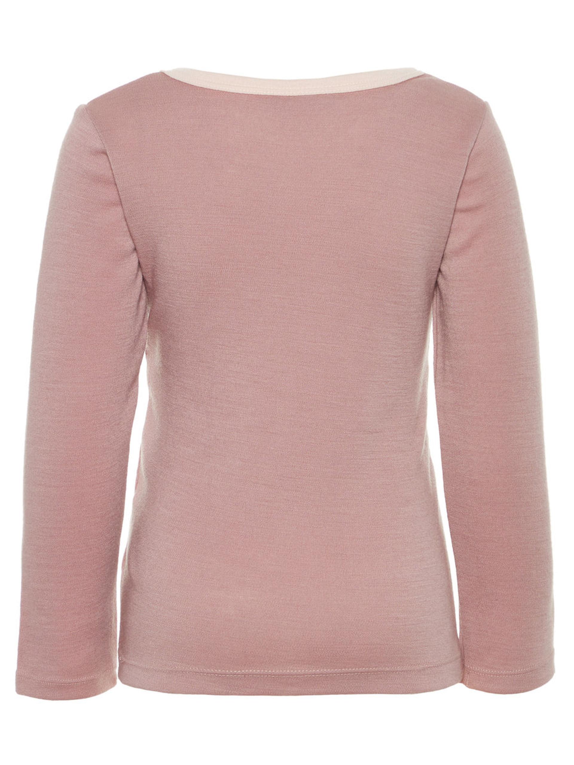b41a323d Ull til barn, Name It rosa ulltrøye, rosa ullgenser til jente ...