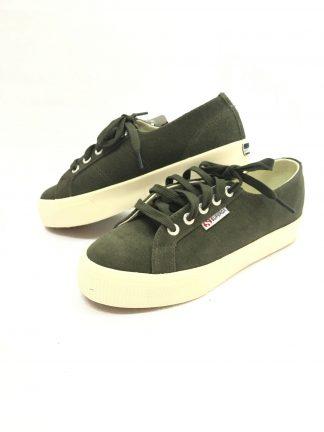 Grønne sko fra Superga.