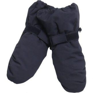 Blå polvotter til barn fra Wheat.