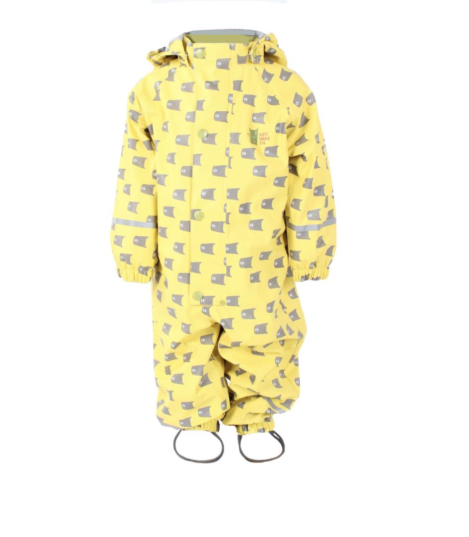 e9b0b703 Kattnakken gul hel regndress – Kattnakken regntøy Gul hel regndress,  Fiskestim – Mio Trend