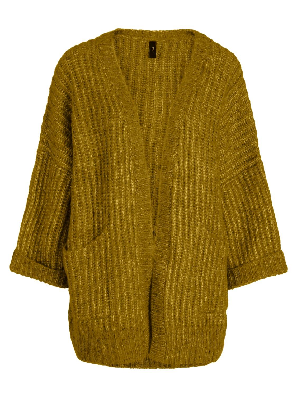 c79b9781d4d Grønn strikkejakke fra YAS – Y.A.S Sunday grønn cardigan – Mio Trend