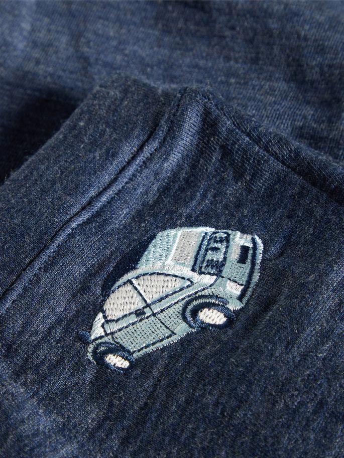 973ce537 Name It joggebukse i ull, blå bukse i merinoull. Ullbukse fra Nameit