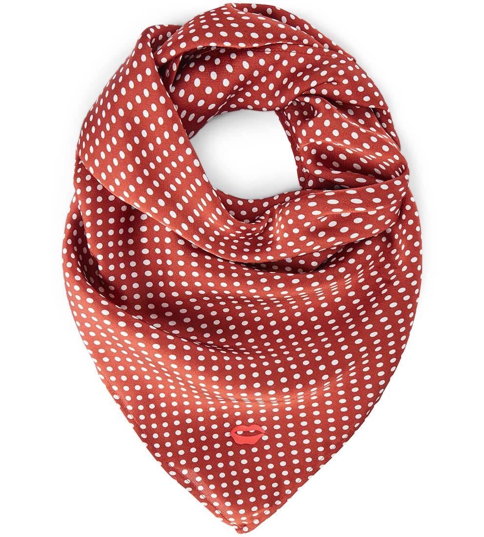 8dc5debc Rødt skjerf med prikker – Co`couture Rødt skjerf med prikker – Mio Trend