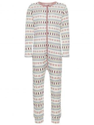 Pysjamas i ull fra Name It, til jente