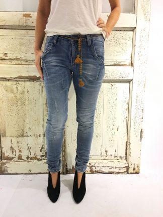 Bukse fra Bianco, blå jeans