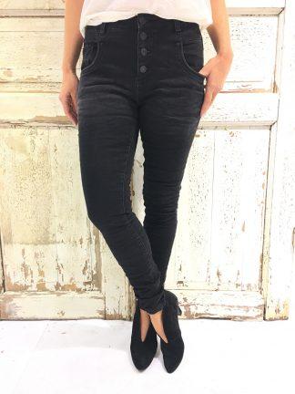 Sort bukse fra Bianco Jeans
