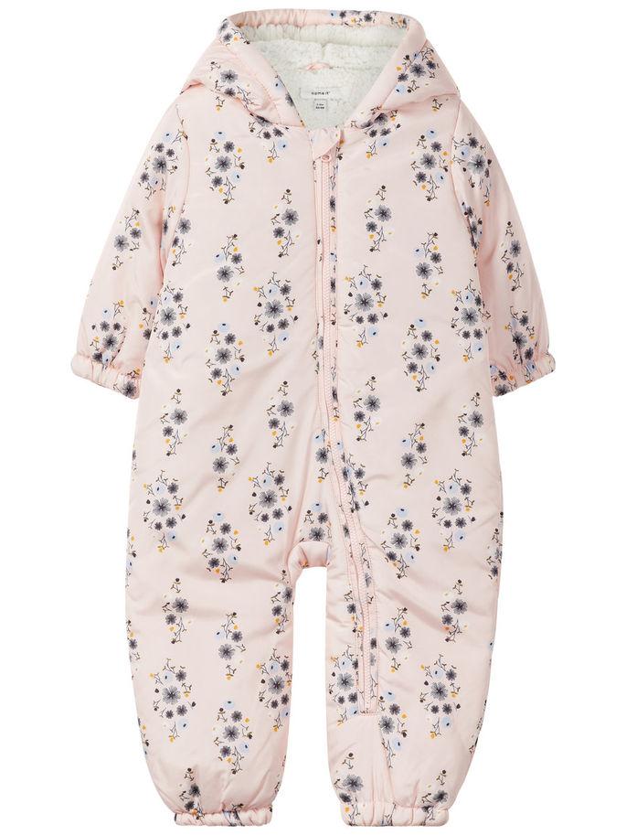 0678f32c Vinterdress, bobledress til baby jente – Name It Mir rosa vinterdress til  baby – Mio