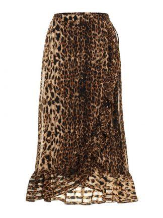 Leopardskjørt fra YAS