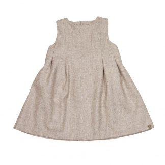 MeMini kjole, beige kjole i ull