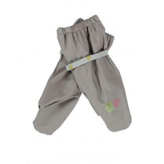 Gummivotter og regnvotter til barn, grå