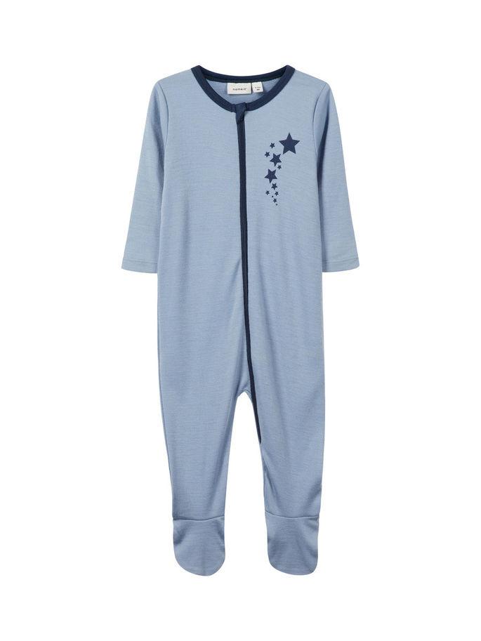 san francisco 31c06 af204 pysjamas i ull til baby