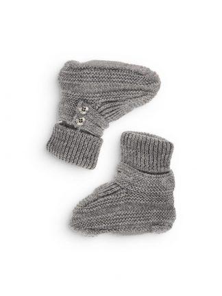 Name It grå sokker i ull