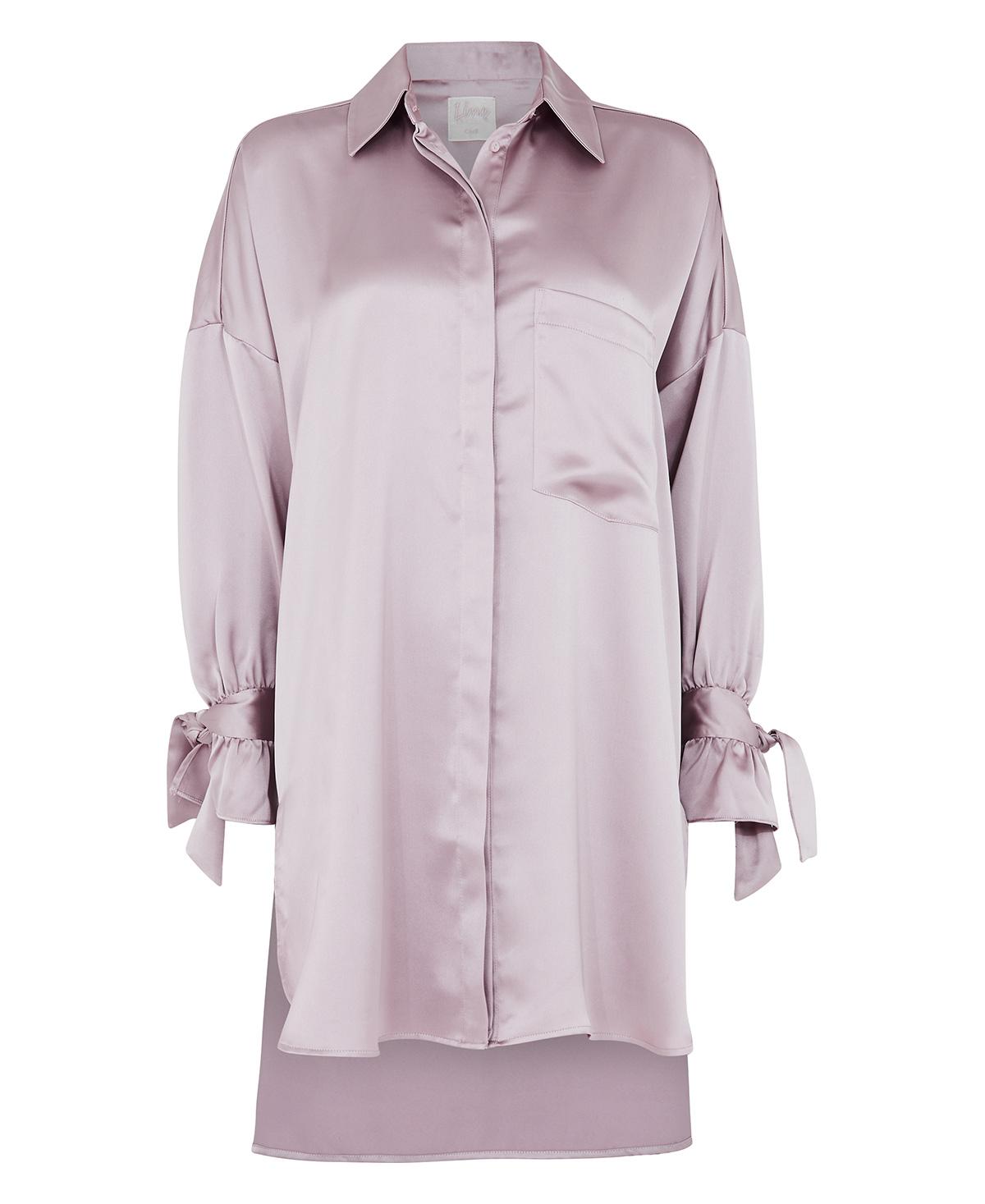 Rosa Sateng Skjorte