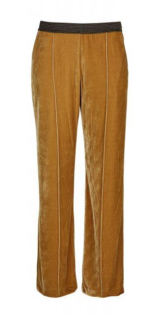 Rue de Femme gul bukse i velour