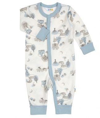 Joha pysjamas i bambus og ull