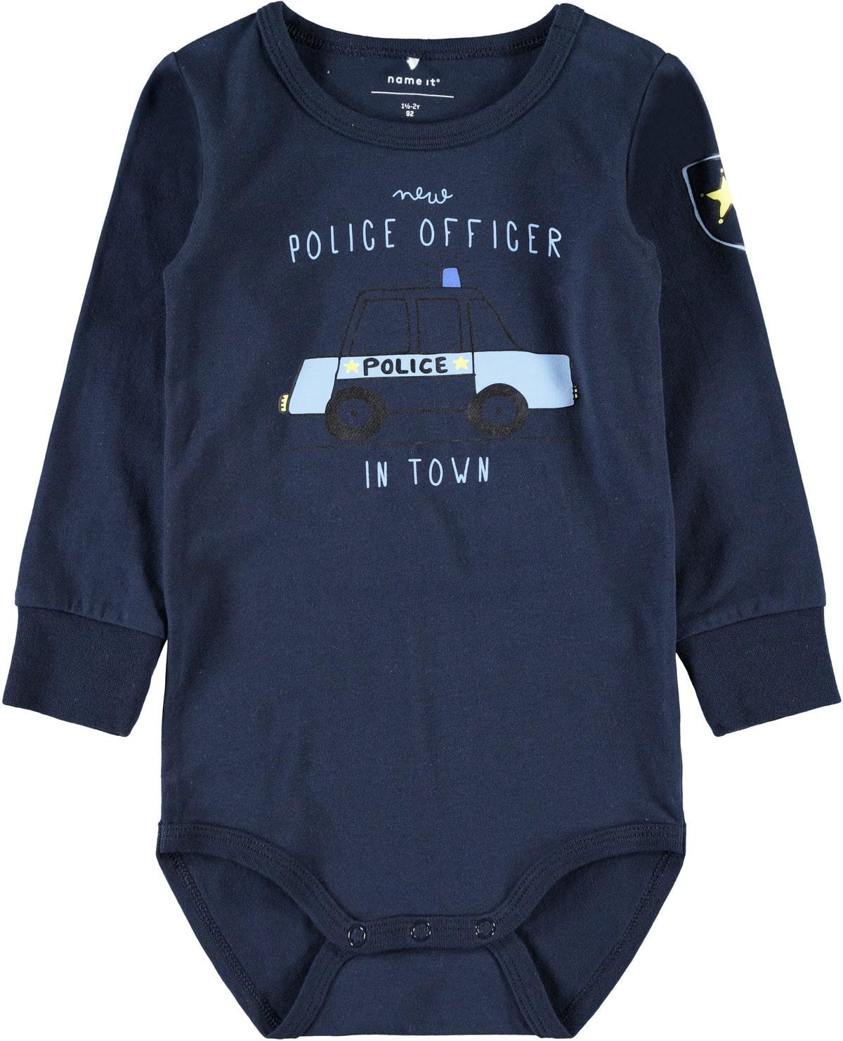 genser med Politi mørke blå MioTrend