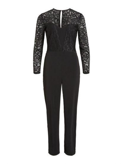 Vila jumpsuit med blonder – Vila jumpsuit med blonder – Mio Trend