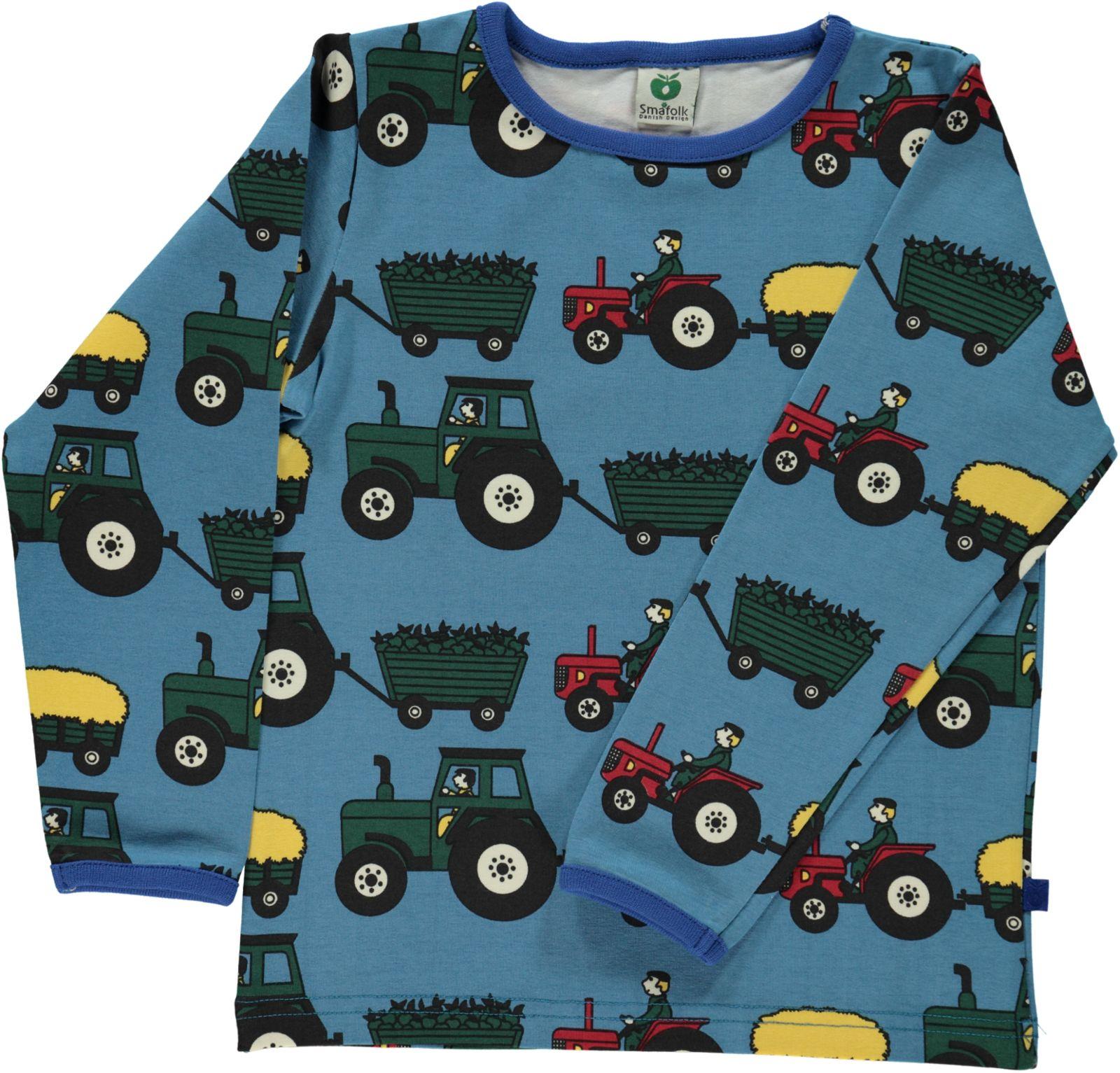 66cfe58e genser til barn med traktor – Småfolk genser med traktor – Mio Trend