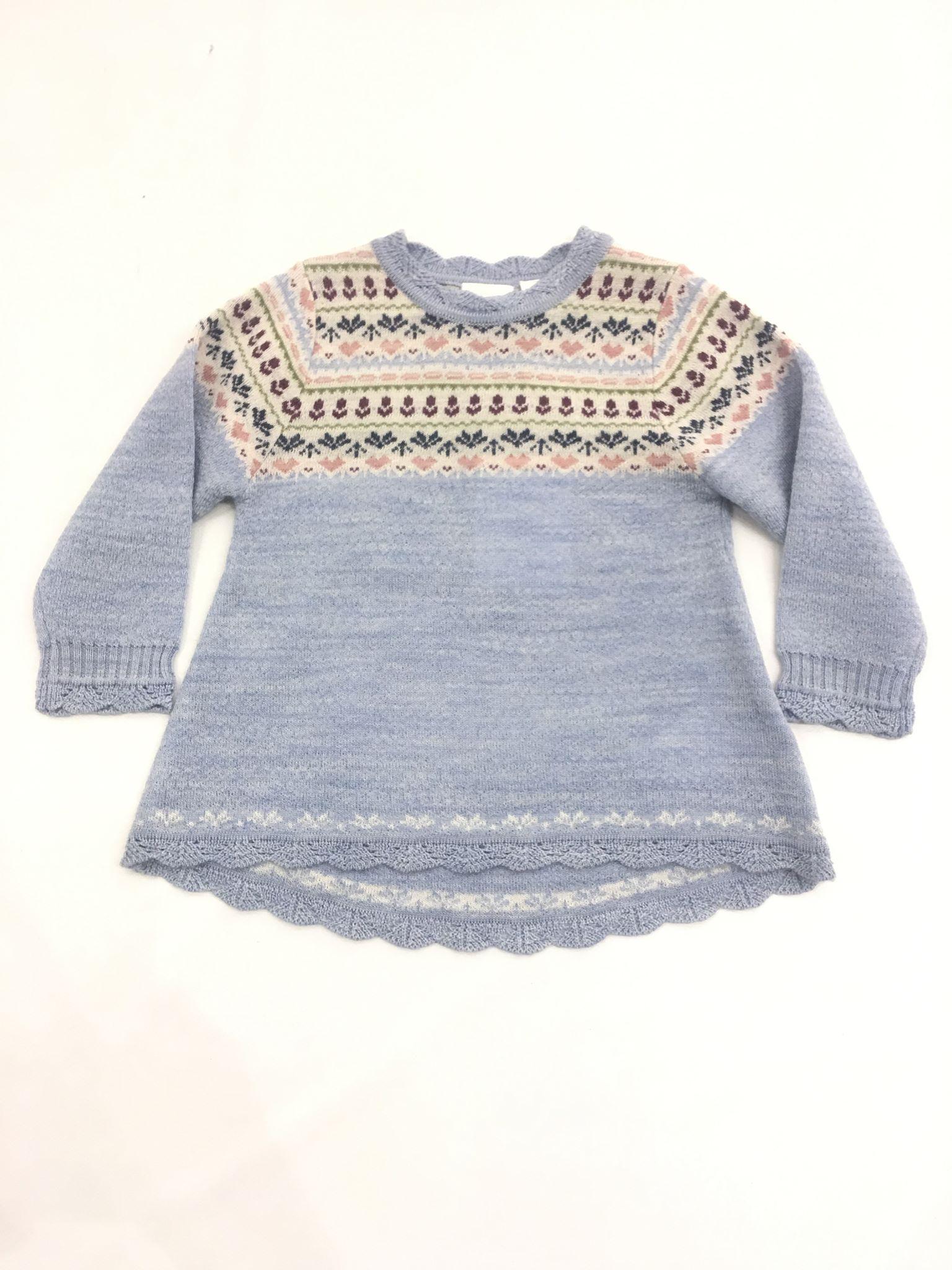 31148c89 Name It ullgenser til jente, lyse blå – Ull lyse blå genser i ull Whoopi