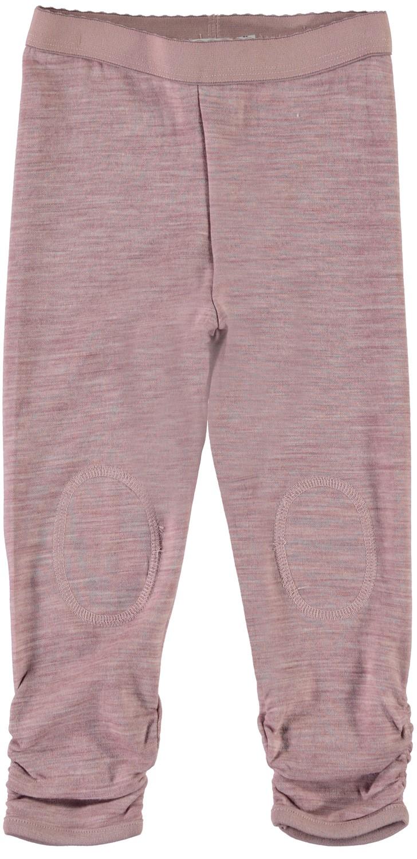 3e123207 Stillongs til jente rosa – Ull stillongs i ull og bomull rosa Wupsus – Mio  Trend